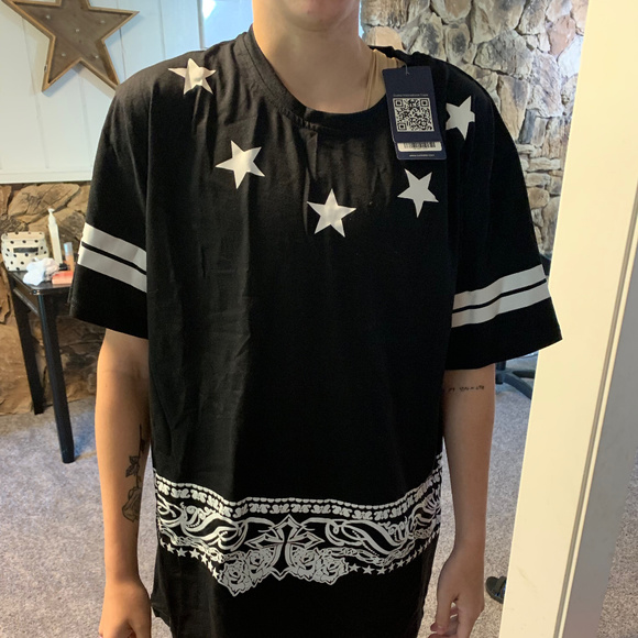 Other - Black Stars And Stripes T Shirt